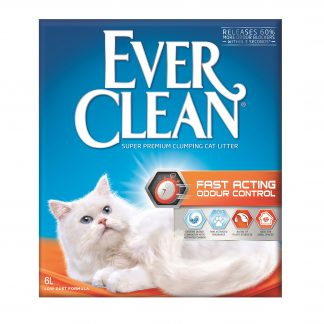 Ever Clean Fast Acting Odour Control 6L super premium clumping cat litter